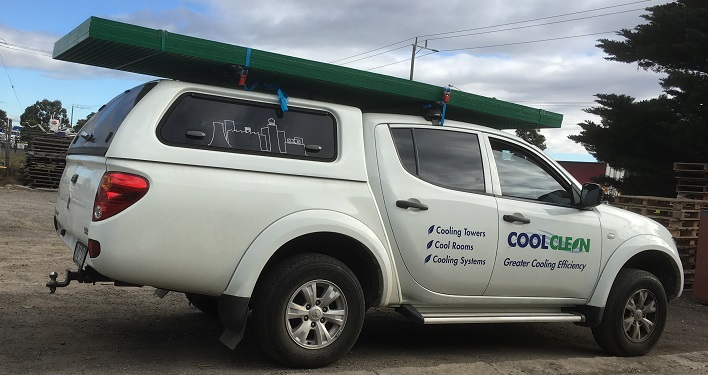 Coolclean service vehicle 2