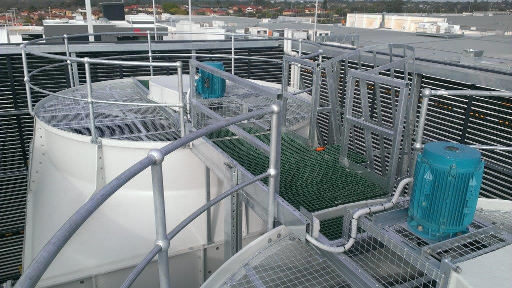Evaporative Cooling Tower : New cooling tower sales coolclean clean repair replace