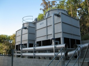 Refurbished cooling tower