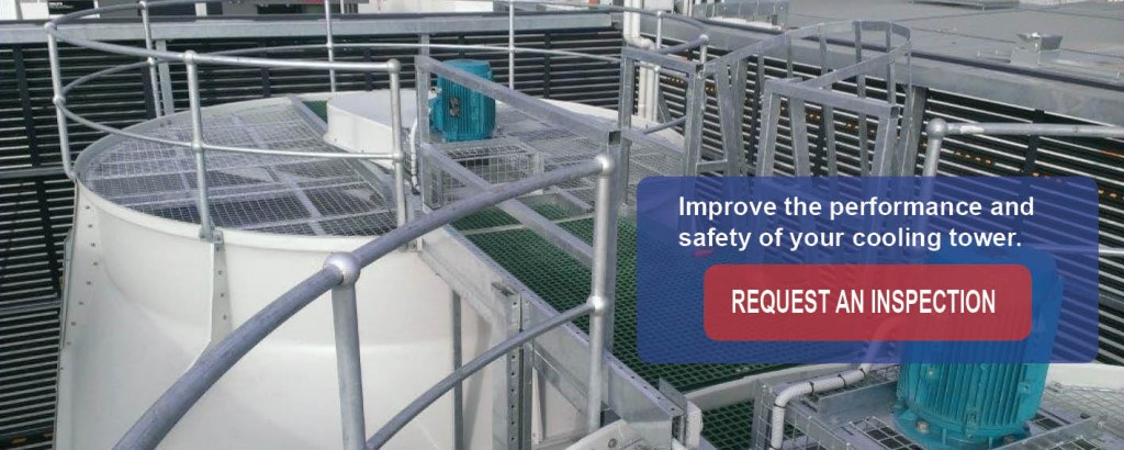 Improve performance and safety of cooling tower 2